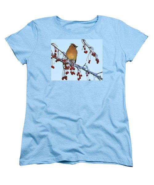 Women's T-Shirt (Standard Cut) featuring the photograph Frozen Dinner  by Tony Beck
