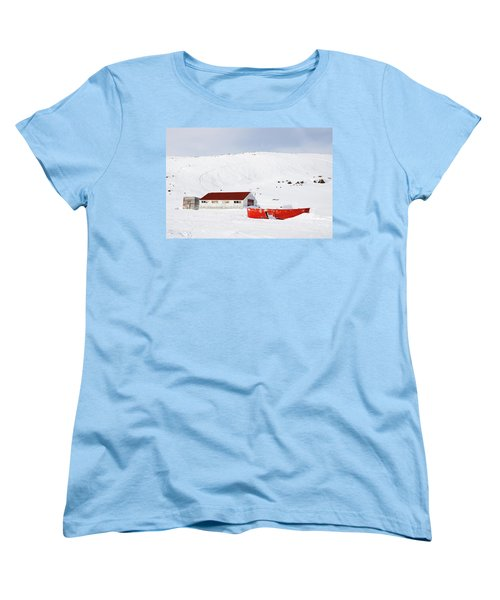 Frozen Life Women's T-Shirt (Standard Cut) by Nick Mares