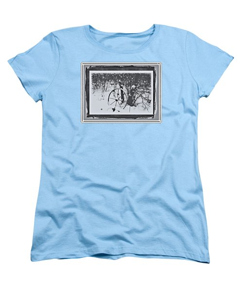 Women's T-Shirt (Standard Cut) featuring the photograph Frozen In Time by Cathy Harper