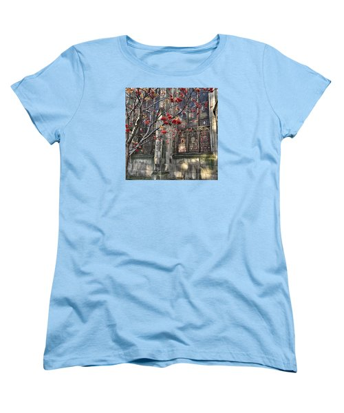 Fruit By The Church Women's T-Shirt (Standard Cut) by RKAB Works