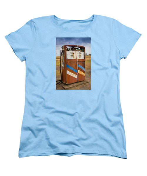 Women's T-Shirt (Standard Cut) featuring the photograph Fuel Pump by Keith Hawley