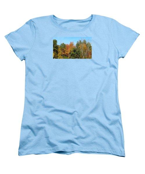 Full Fall Women's T-Shirt (Standard Cut) by Jana E Provenzano