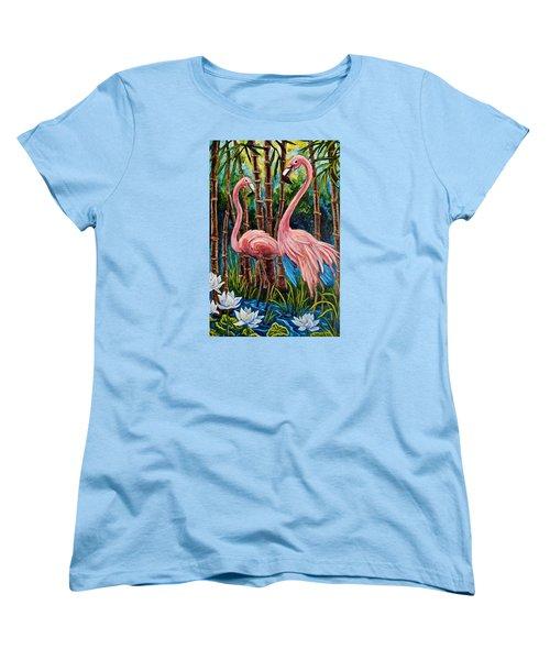 Fun Flamingos Women's T-Shirt (Standard Cut)
