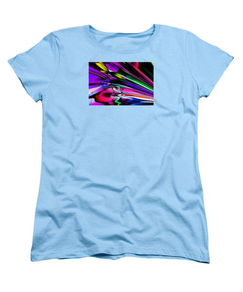 Fun With Colour Women's T-Shirt (Standard Cut) by Elaine Hunter