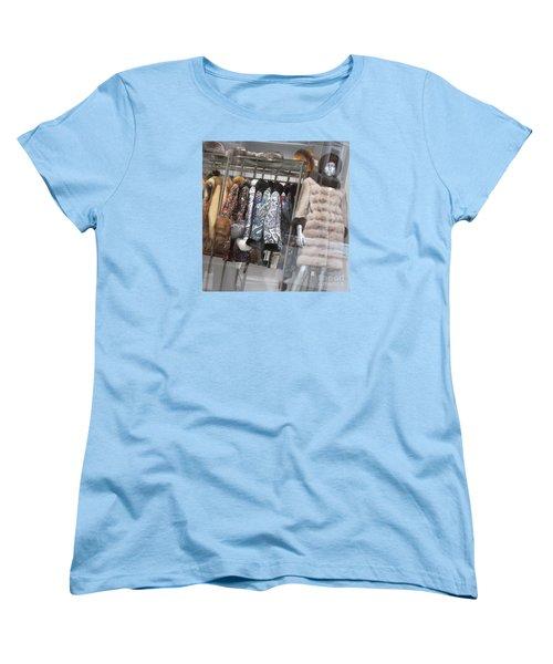 Furs Women's T-Shirt (Standard Cut) by Anna Yurasovsky