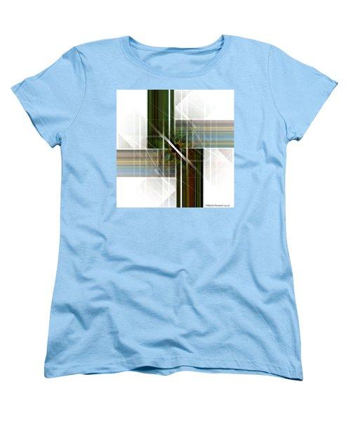 Future  Buildings Women's T-Shirt (Standard Cut) by Thibault Toussaint