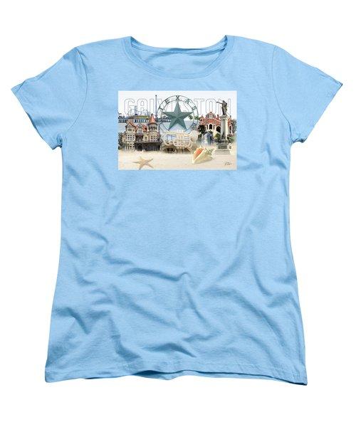 Galveston Texas Women's T-Shirt (Standard Cut) by Doug Kreuger