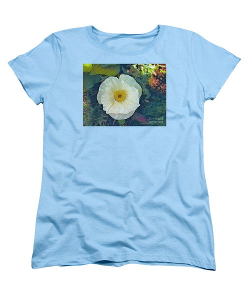 Women's T-Shirt (Standard Cut) featuring the photograph Garden Beauty by Kathie Chicoine