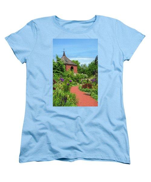 Garden Path Women's T-Shirt (Standard Cut) by Trey Foerster