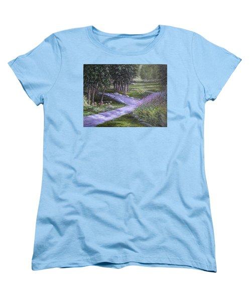 Garden Walk Women's T-Shirt (Standard Cut)
