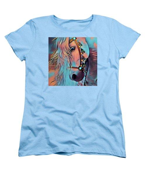 Gentle Giant Women's T-Shirt (Standard Cut) by Kathy Kelly