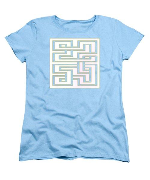 Geo 7 - Transparent Women's T-Shirt (Standard Cut) by Chuck Staley
