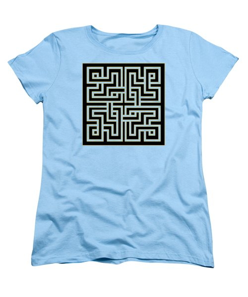 Geo Pattern 5 - Transparent Women's T-Shirt (Standard Fit)