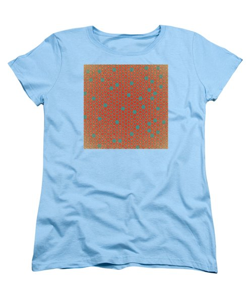 Women's T-Shirt (Standard Cut) featuring the digital art Geometric 1 by Bonnie Bruno