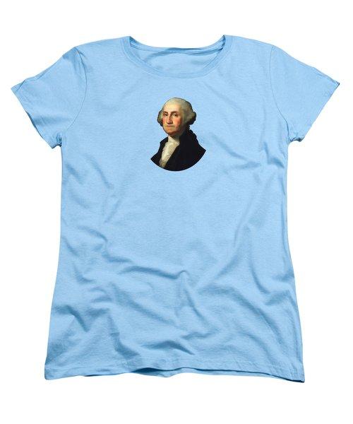 George Washington - Rembrandt Peale Women's T-Shirt (Standard Cut)