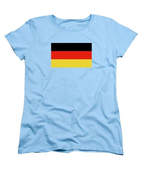 German Flag Women's T-Shirt (Standard Cut) by Bruce Stanfield
