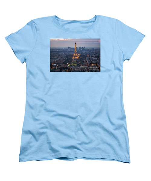 Get Ready For The Show Women's T-Shirt (Standard Cut) by Giuseppe Torre