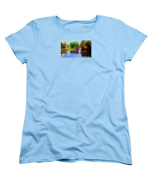 Women's T-Shirt (Standard Cut) featuring the photograph Get Your Own Cream by Mike Breau