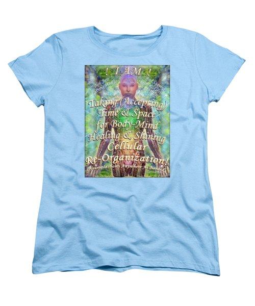 Getting Super Chart For Affirmation Visualization V3u Women's T-Shirt (Standard Cut) by Christopher Pringer
