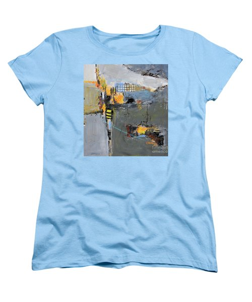 Women's T-Shirt (Standard Cut) featuring the painting Getting There by Ron Stephens