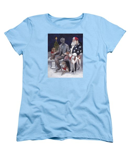 Gettysburg Christmas Women's T-Shirt (Standard Cut)