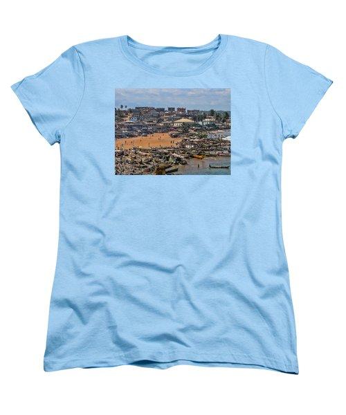 Women's T-Shirt (Standard Cut) featuring the photograph Ghana Africa by David Gleeson