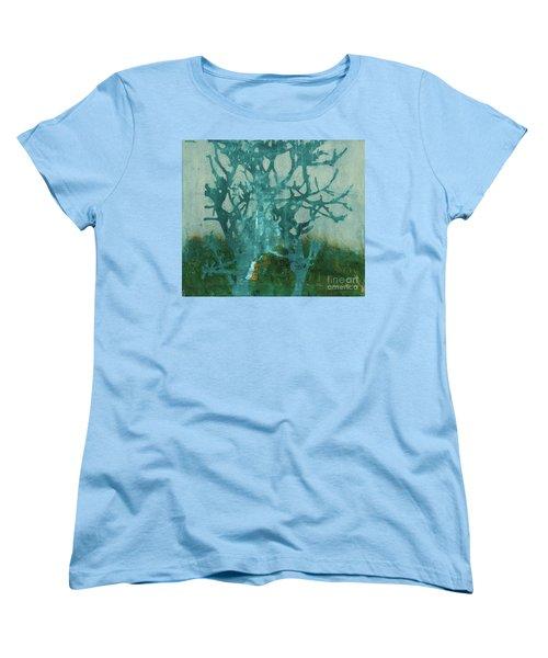 Ghost Tree Women's T-Shirt (Standard Cut)
