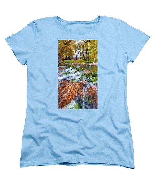 Giant Springs 2 Women's T-Shirt (Standard Cut) by Susan Kinney