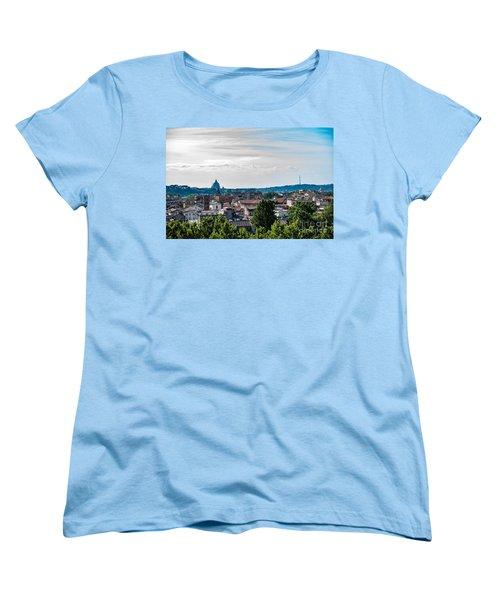 Giardino Degli Aranci Women's T-Shirt (Standard Cut) by Joseph Yarbrough