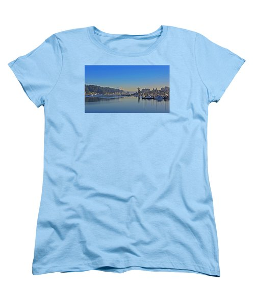 Women's T-Shirt (Standard Cut) featuring the photograph Gig Harbor, Wa by Jack Moskovita