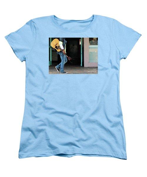Women's T-Shirt (Standard Cut) featuring the photograph Gig Less by Joe Jake Pratt