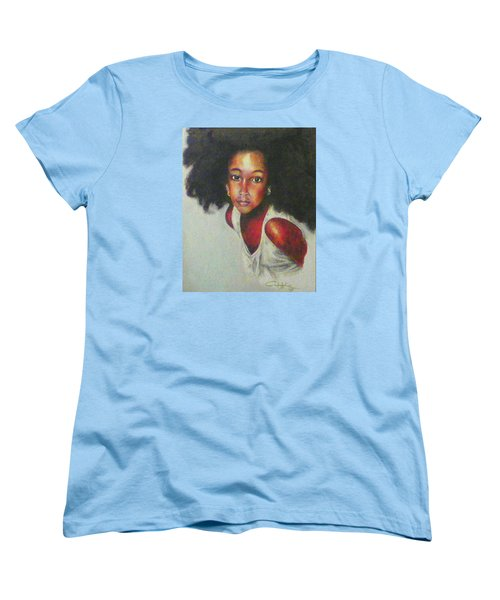 Girl From The Island Women's T-Shirt (Standard Cut) by G Cuffia