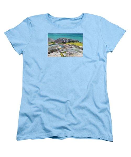 Glacial Lake Women's T-Shirt (Standard Cut)