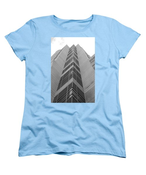 Women's T-Shirt (Standard Cut) featuring the photograph Glass Tower by Rob Hans