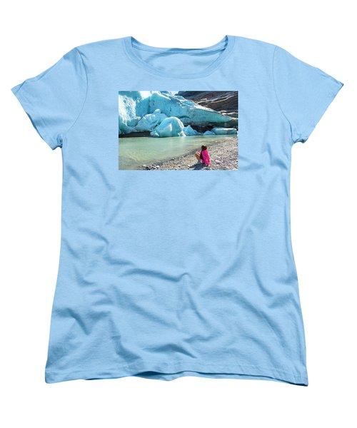 Global Warming Women's T-Shirt (Standard Cut) by Tamara Sushko