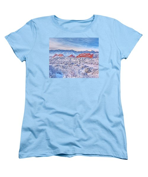 Glorious Garden Women's T-Shirt (Standard Cut) by Diane Alexander