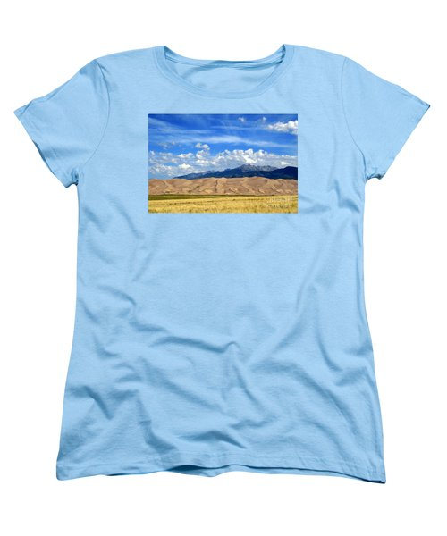 Women's T-Shirt (Standard Cut) featuring the photograph Glorious Morning 2 by Paula Guttilla