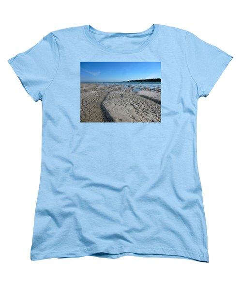 Gloucester Lighthouse Women's T-Shirt (Standard Cut) by Barbara Bardzik