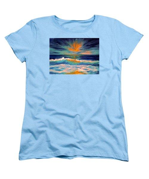 Glow Women's T-Shirt (Standard Cut) by Holly Martinson