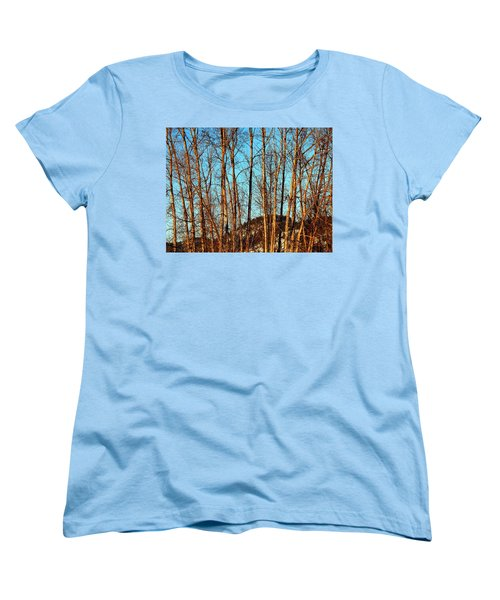 Women's T-Shirt (Standard Cut) featuring the photograph Glow Of The Setting Sun by Will Borden