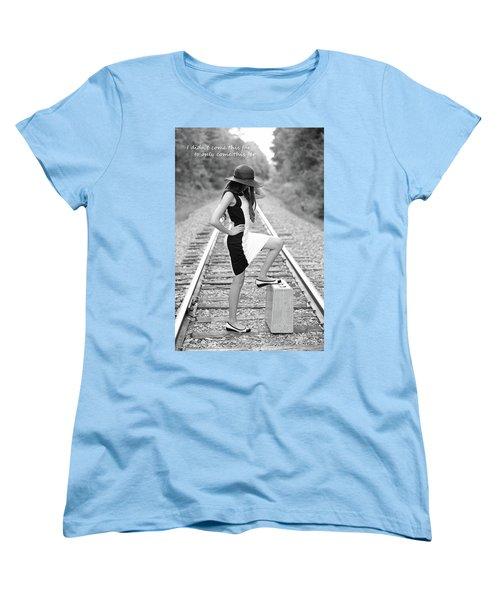 Women's T-Shirt (Standard Cut) featuring the photograph Go Far by Barbara West