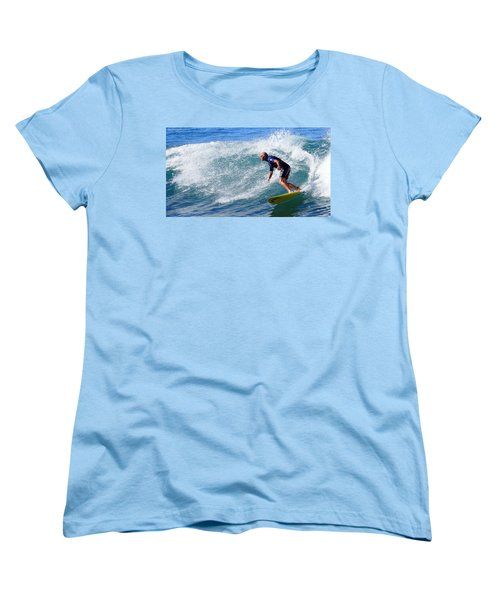 Women's T-Shirt (Standard Cut) featuring the photograph Go For It 001 by Kevin Chippindall