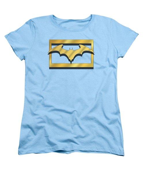 Golden Bat Women's T-Shirt (Standard Cut) by Chuck Staley