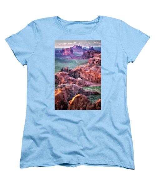 Golden Hour  Women's T-Shirt (Standard Cut) by Nicki Frates