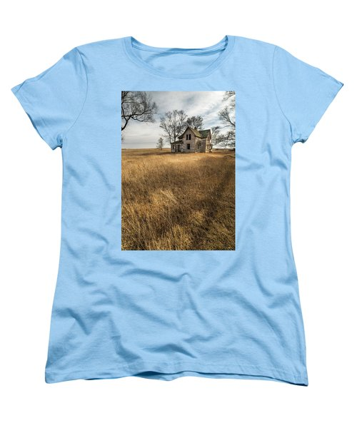 Golden Prairie  Women's T-Shirt (Standard Cut) by Aaron J Groen