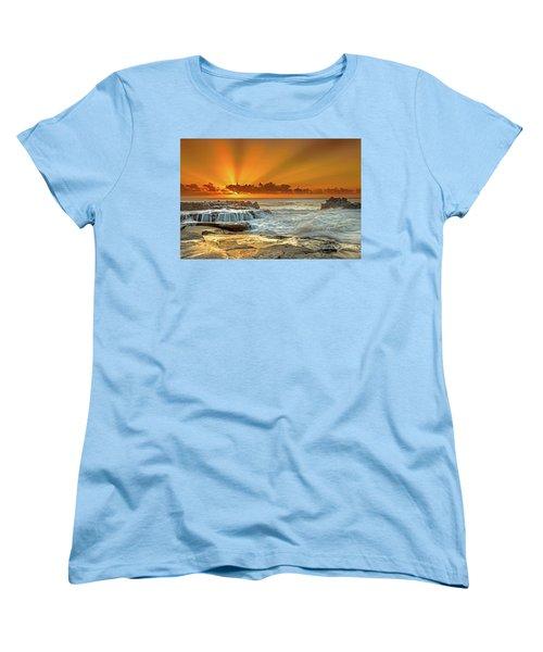 Golden Rays Women's T-Shirt (Standard Cut)