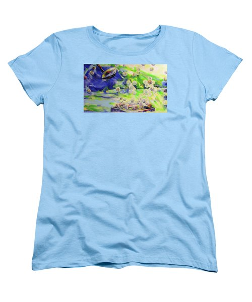 Golfbaelle In Huelle Und Fuelle   Golf Balls Galore Women's T-Shirt (Standard Cut) by Koro Arandia