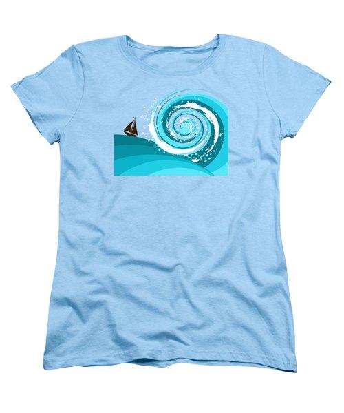 Gonna Need A Bigger Boat Women's T-Shirt (Standard Cut) by Shawna Rowe