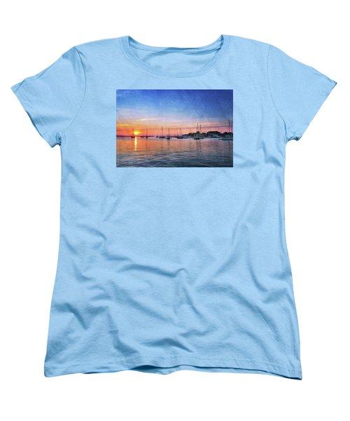 Good Morning Women's T-Shirt (Standard Cut) by Edward Kreis