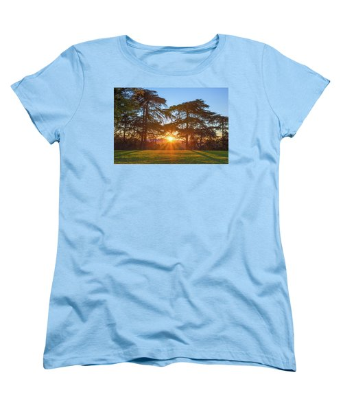 Good Morning, Good Morning Women's T-Shirt (Standard Cut) by Joseph S Giacalone